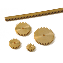 Brass Gears Without Boss