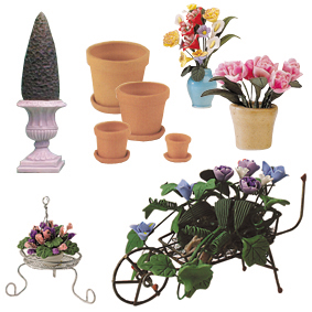 Garden Ornaments & Flowers