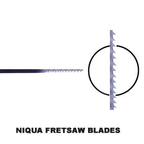 Niqua Fretsaw Blades