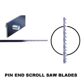 Pin end Scroll Saw Blades