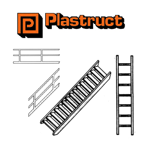 Styrene Stairs, Ladders & Rails