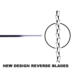 New Design 'Reverse' Blades