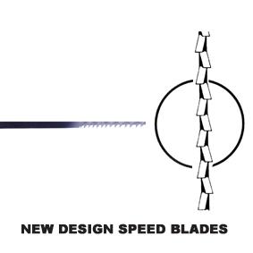 New Design 'speed' Blades