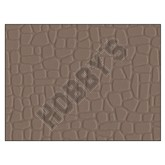 Plastic Sheet - Random Stone Grey