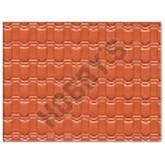 Plastic Sheet - Pantile Roof (