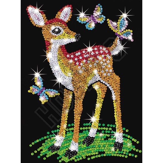 Junior Sequin Art - Fawn