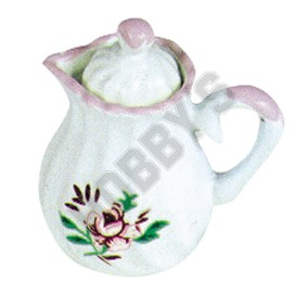 Coffee Pot - Rose Pattern