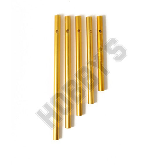 5 Wind Chime Rods (Brassed)