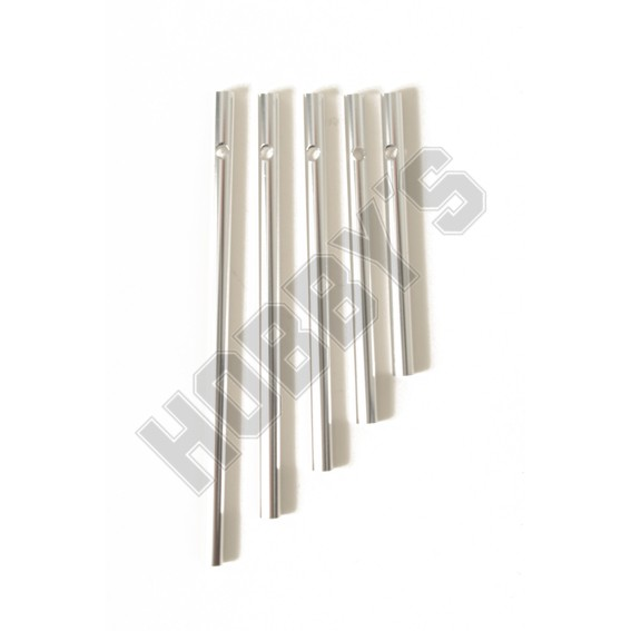 5 Wind Chime Rods (Silver)