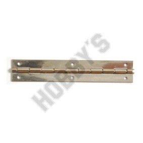 Nickel Butt Hinge - 51mm Pin Fixing