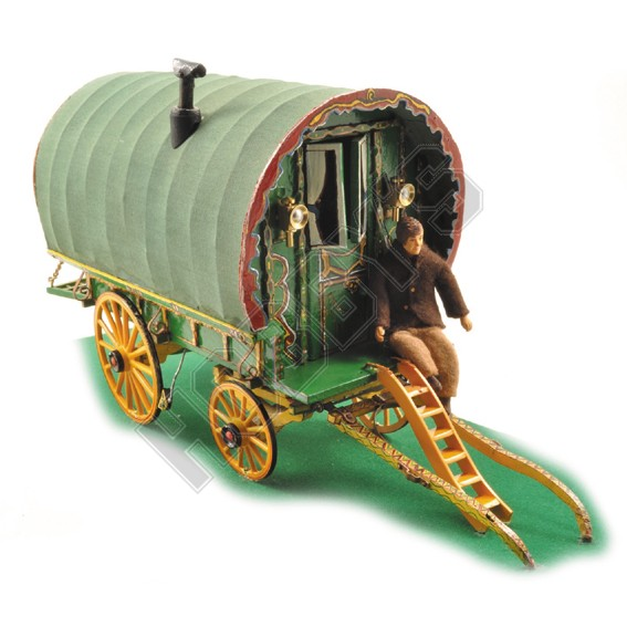 plan for model gypsy caravan