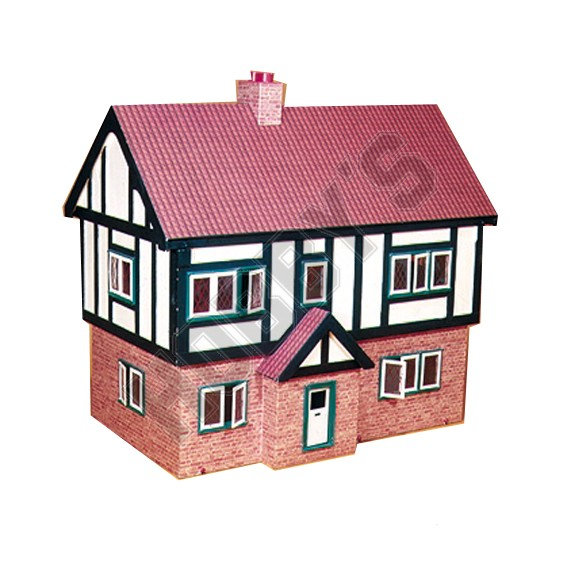 Plan- Tudor Style Dolls House