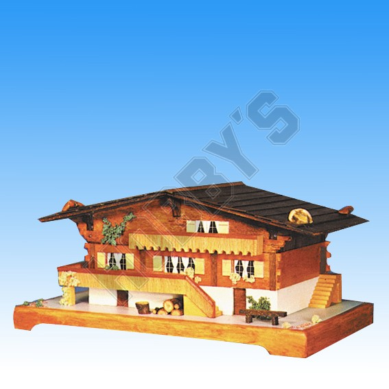 Shop Musical Swiss Chalet Kit | Hobby.uk.com Hobbys
