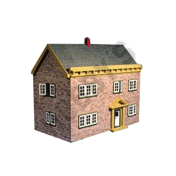 Plan - Georgian Dolls House