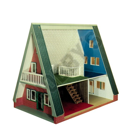 Plan-Scandinavian Dolls House