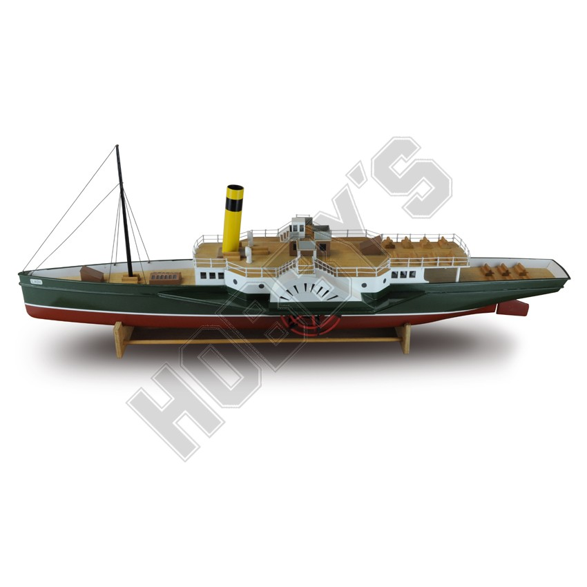 Shop Paddle Steamer Plan | Hobby.uk.com Hobbys