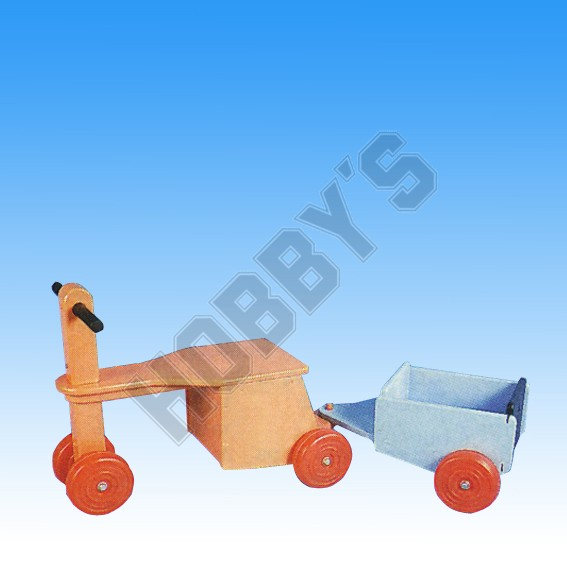 Push - Along Trike & Trailer Plan