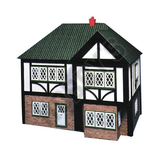 Plan-Tudor Dolls House