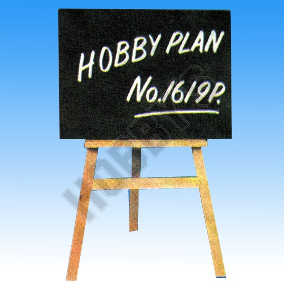 Blackboard & Easel Plan
