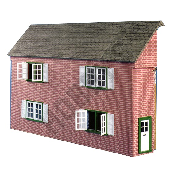 Plan-Fold-Away Dolls House