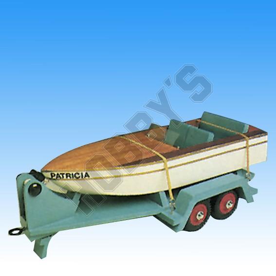 Speed Boat & Trailer Plan