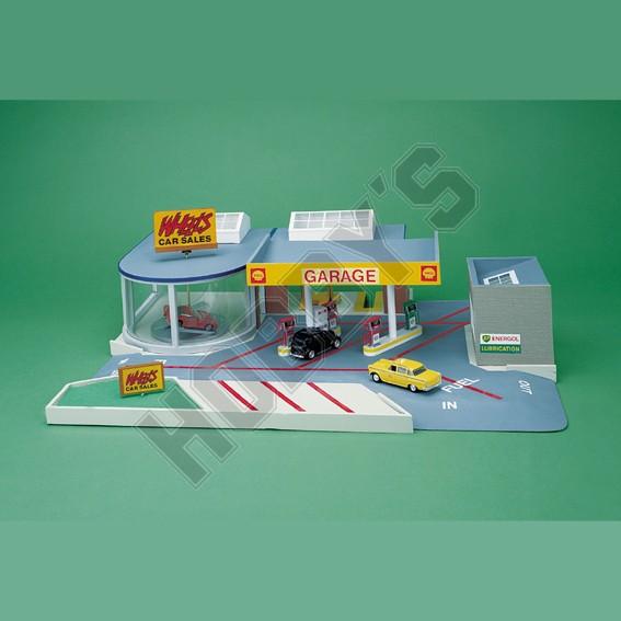 Garage & Showroom Plan