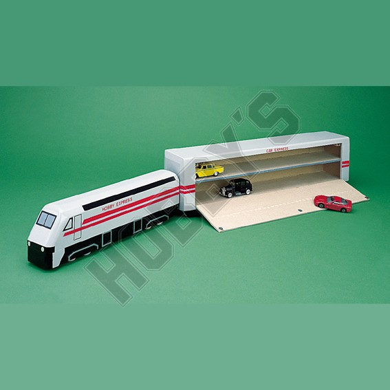 Euro Star Train with Shuttle Wagon Kit