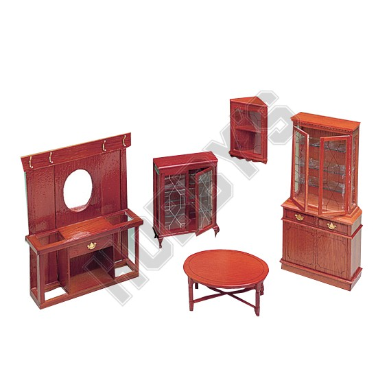Display Cabinets And Tables Plan