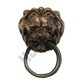 Lions Head - Antique Finish