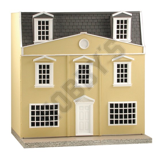 Shop 1 24th scale regency dolls house plan for Regency house plans