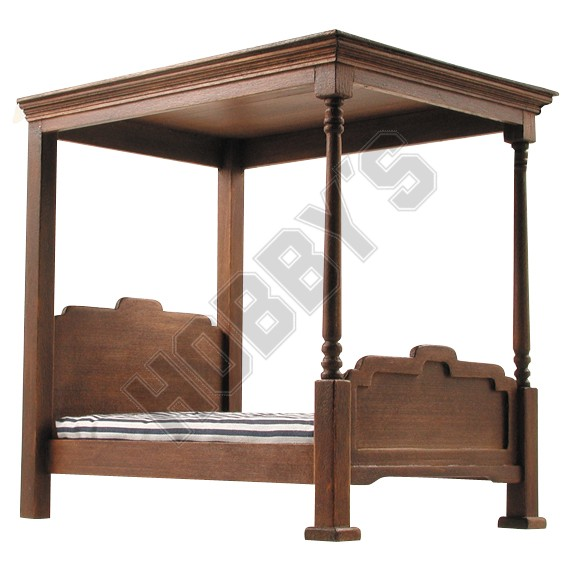 Four Poster Bed Plan