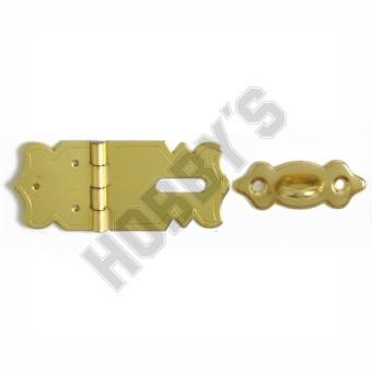 Brassed Clasp & Staple