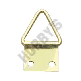 Brassed Triangle Ring
