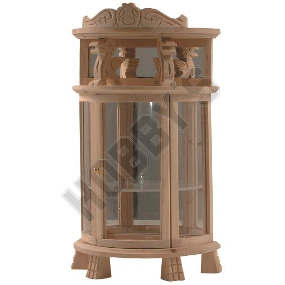 Half Round Display Cabinet