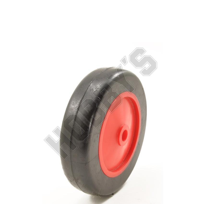 Red Center Black P.V.C. Tyre