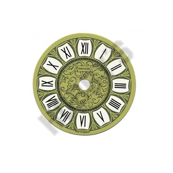 Printed Clock Dial - 97mm