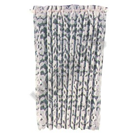 White Lace Panel Curtain
