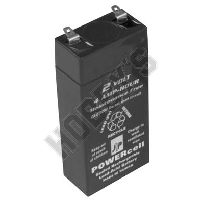 Powercell Rechargeable Gel Battery 2V-4Ah