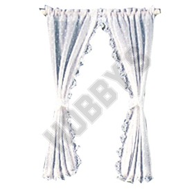 White Country Curtains