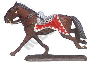 Britain: 10th Hussars Officer's Horse