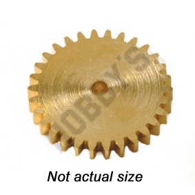 Brass Gear 10T Without Boss