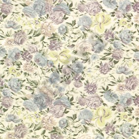 Chintz Wallpaper - Multicoloured