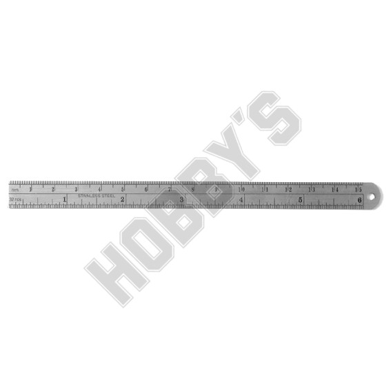"150MM / 6"" STAINLESS STEEL RULE"