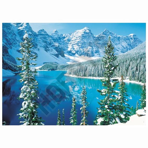 Deluxe Rollopuzz - Mountain Lake Scene