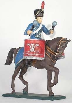 10th Royal Hussars Kettle Drummer