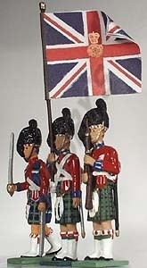 42nd Highlanders Colour party