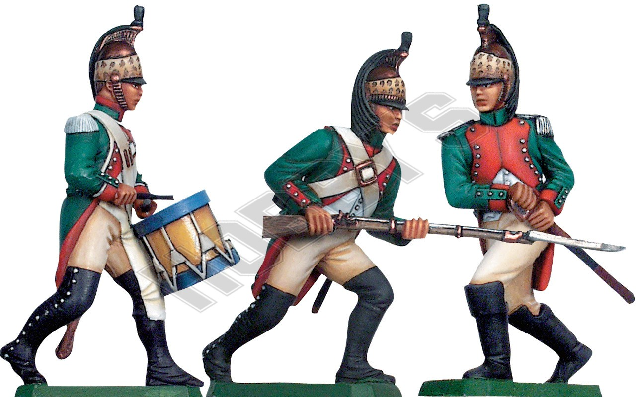 French Foot Dragoons 1809