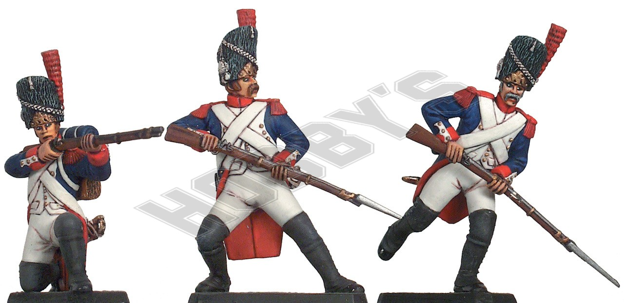 French Inperial Guard Attacking poses