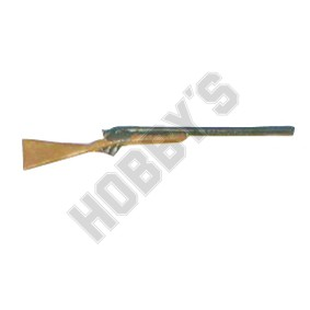 Double Barrel Shotgun - Metal Miniature