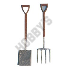 Spade & Fork - Metal Miniatures